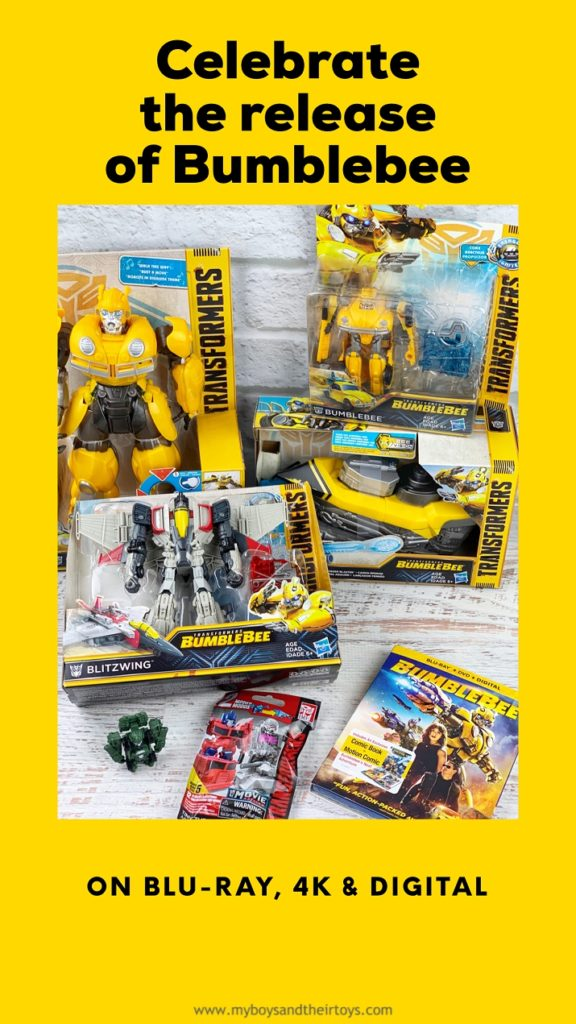 Bumblebee movie and toys