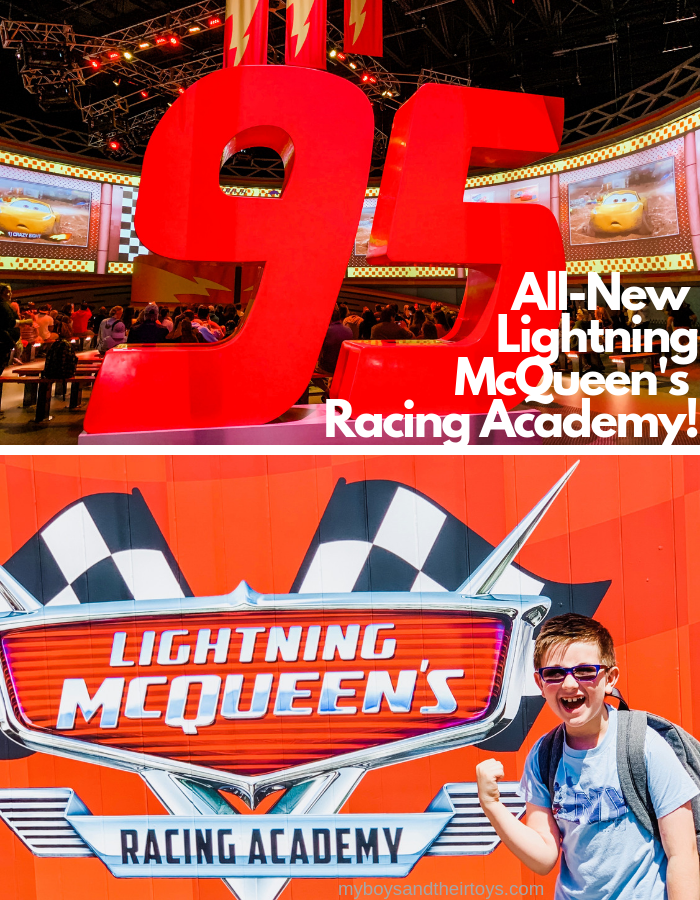 lightning mcqueens racing academy
