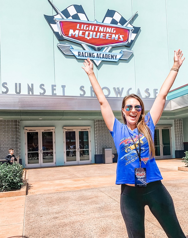 Lightning McQueen Racing Academy Sunset