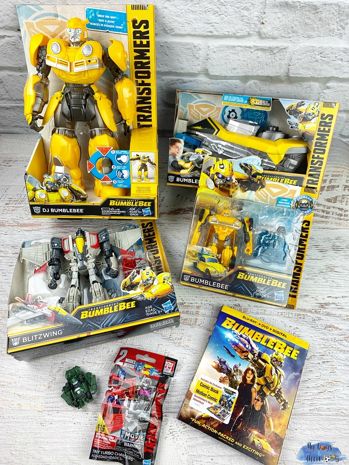 bumblebee movie kit
