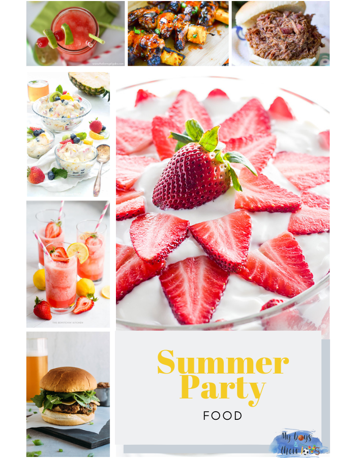 summer party food round-up