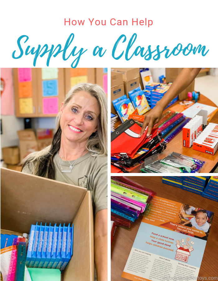 supply a classroom