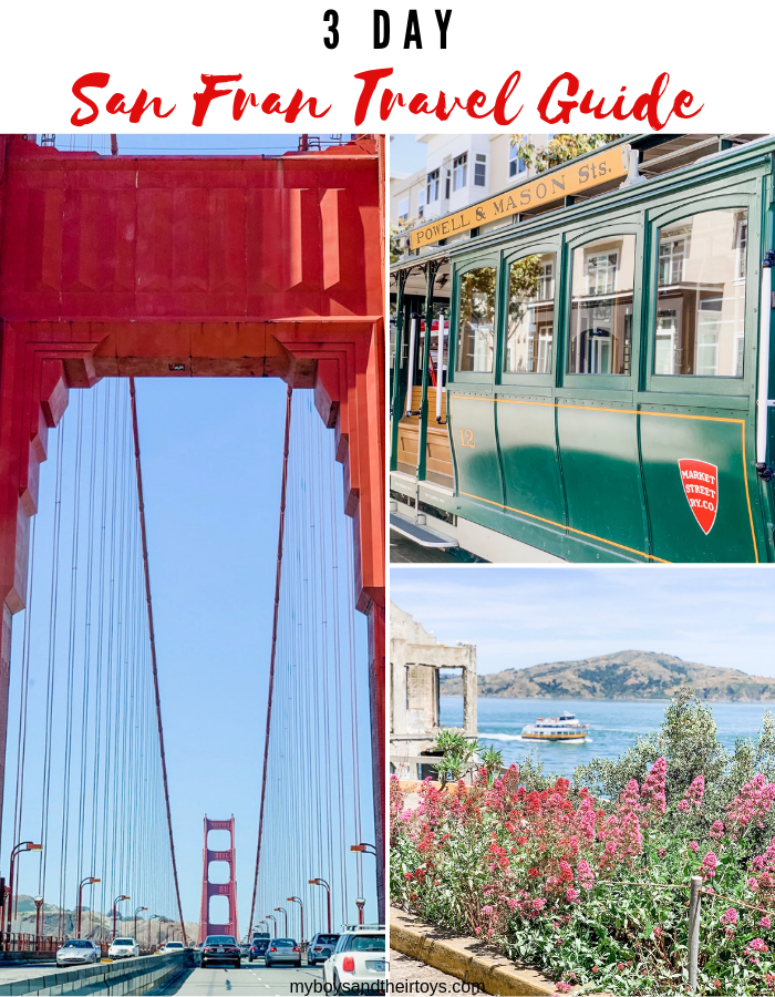 3 day san fransisco travel guide