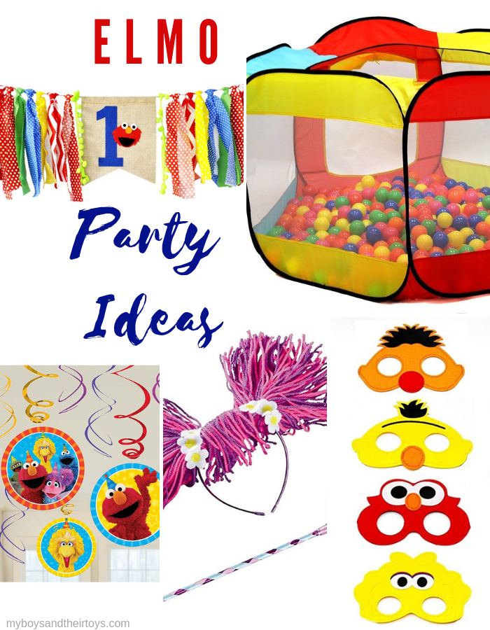 elmo party ideas