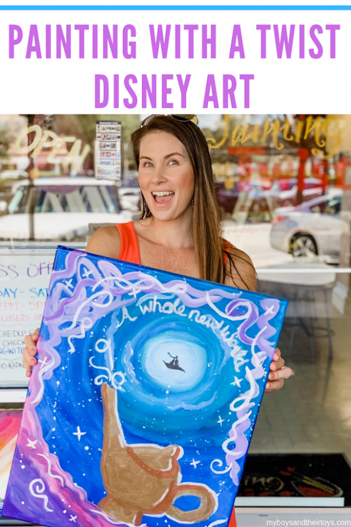 painting with a twist disney