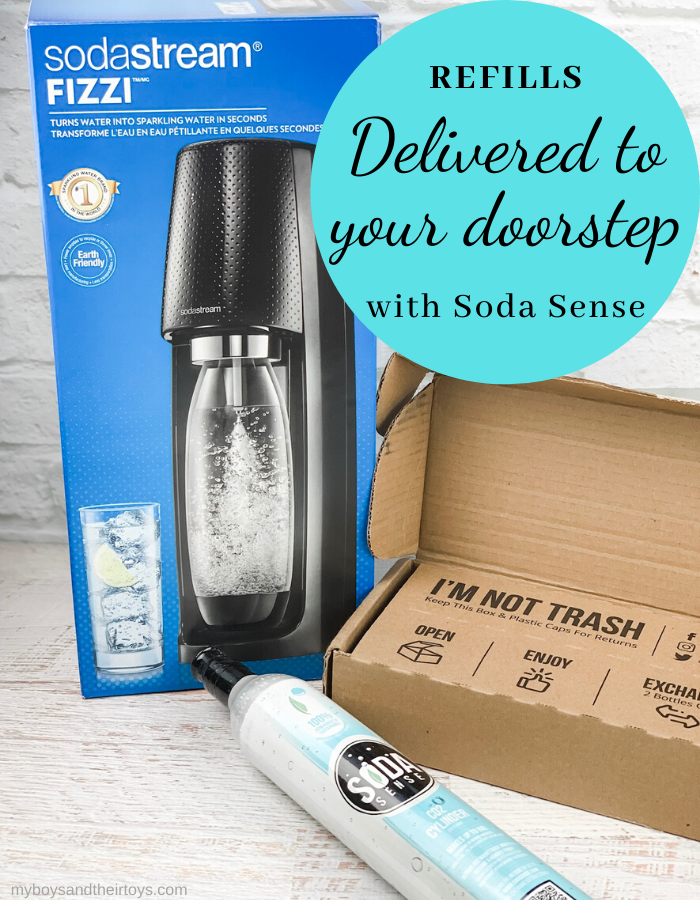 soda sense co2 cartridge refill