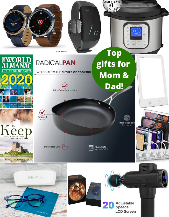 top gifts for mom and dad