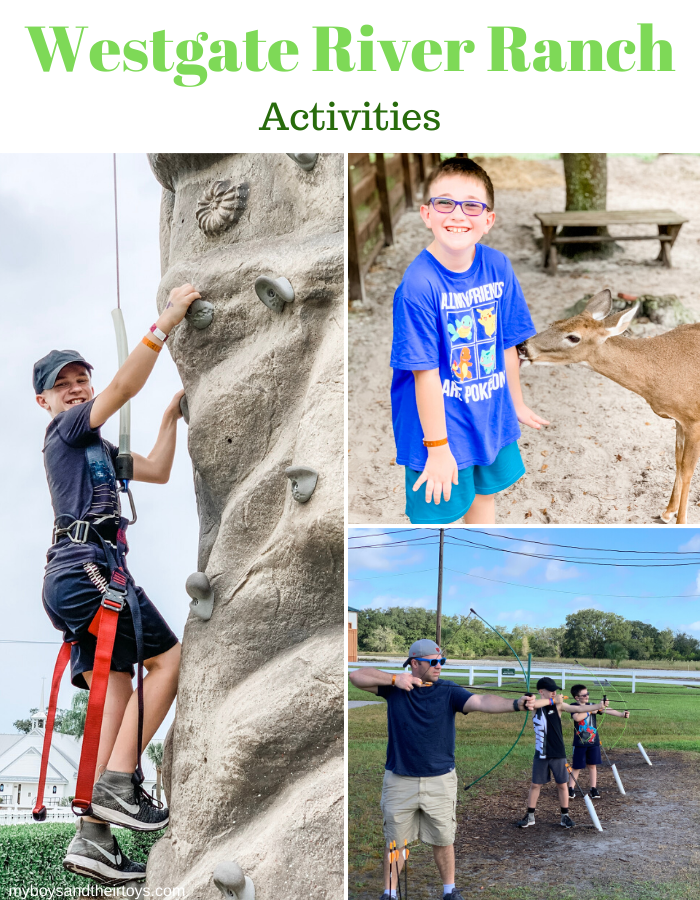 westgate river ranch activities