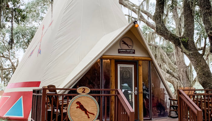 Glamping in Style – Westgate River Ranch Resort